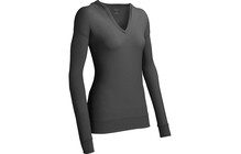 Icebreaker Vista Middenlaag Dames BF200, LS, Hood grijs